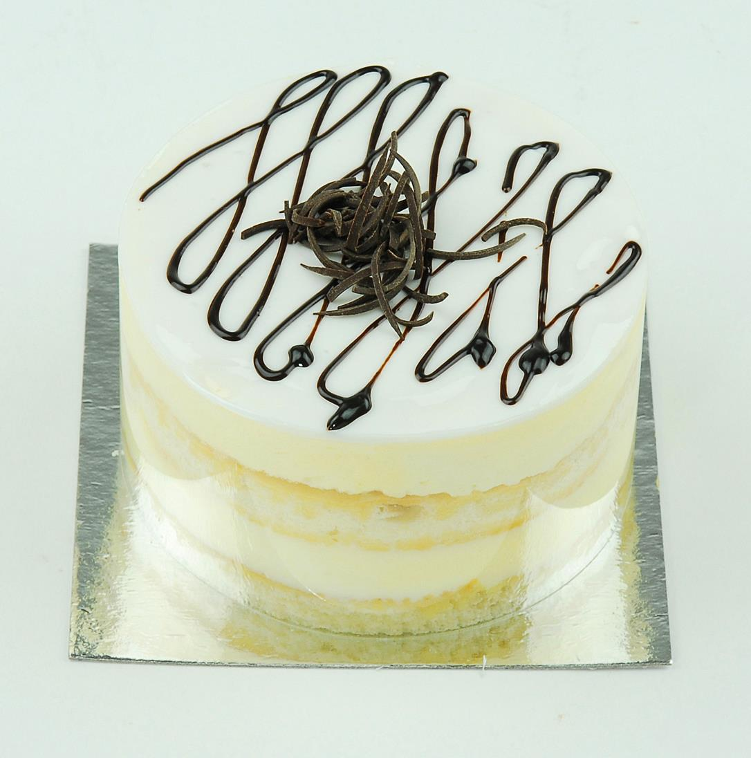 Vaníliás mini mousse torta