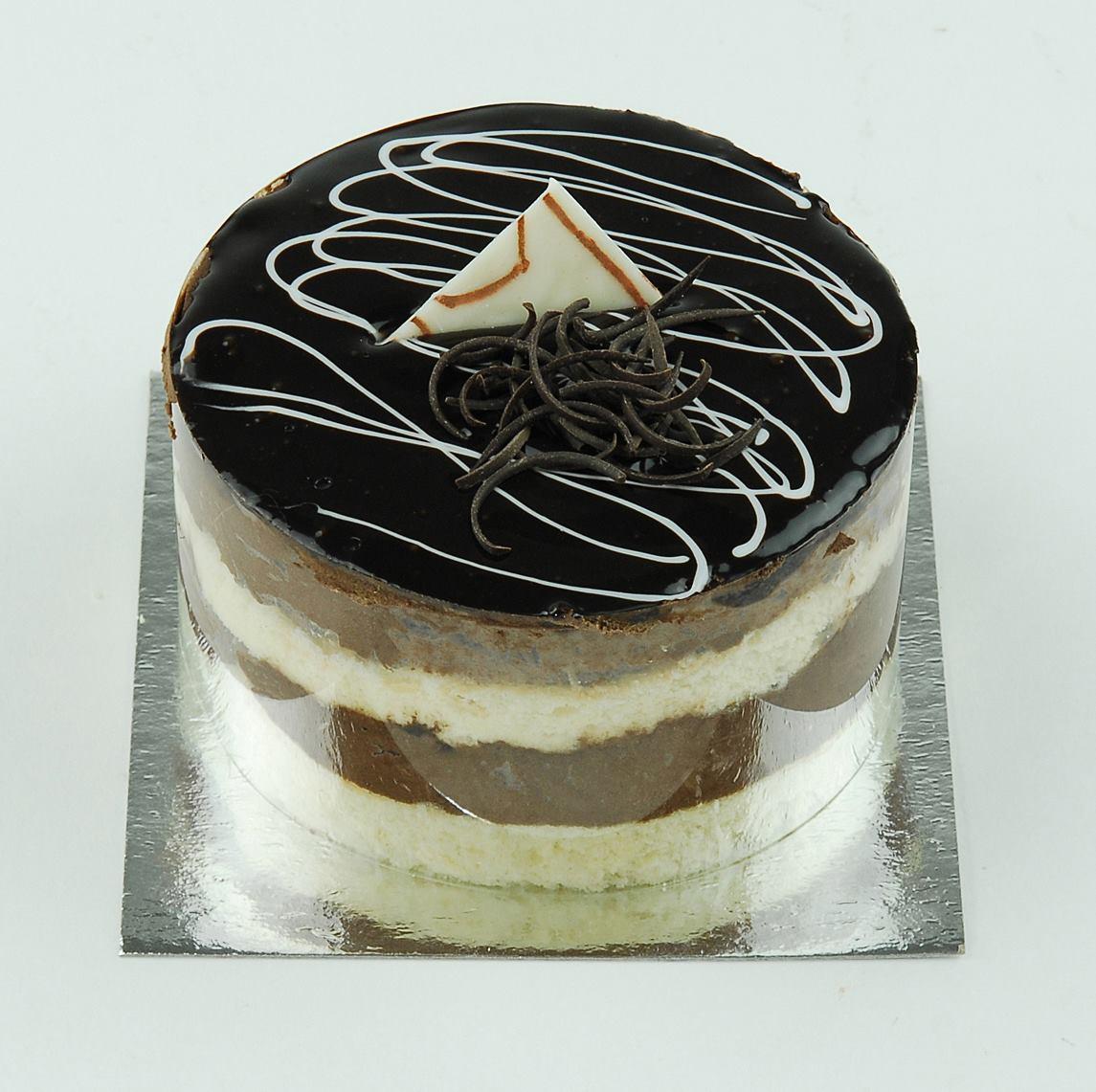 Csokoládés mini mousse torta