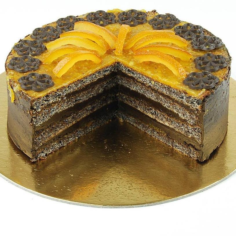 Paleo-narancsos-mákos-torta