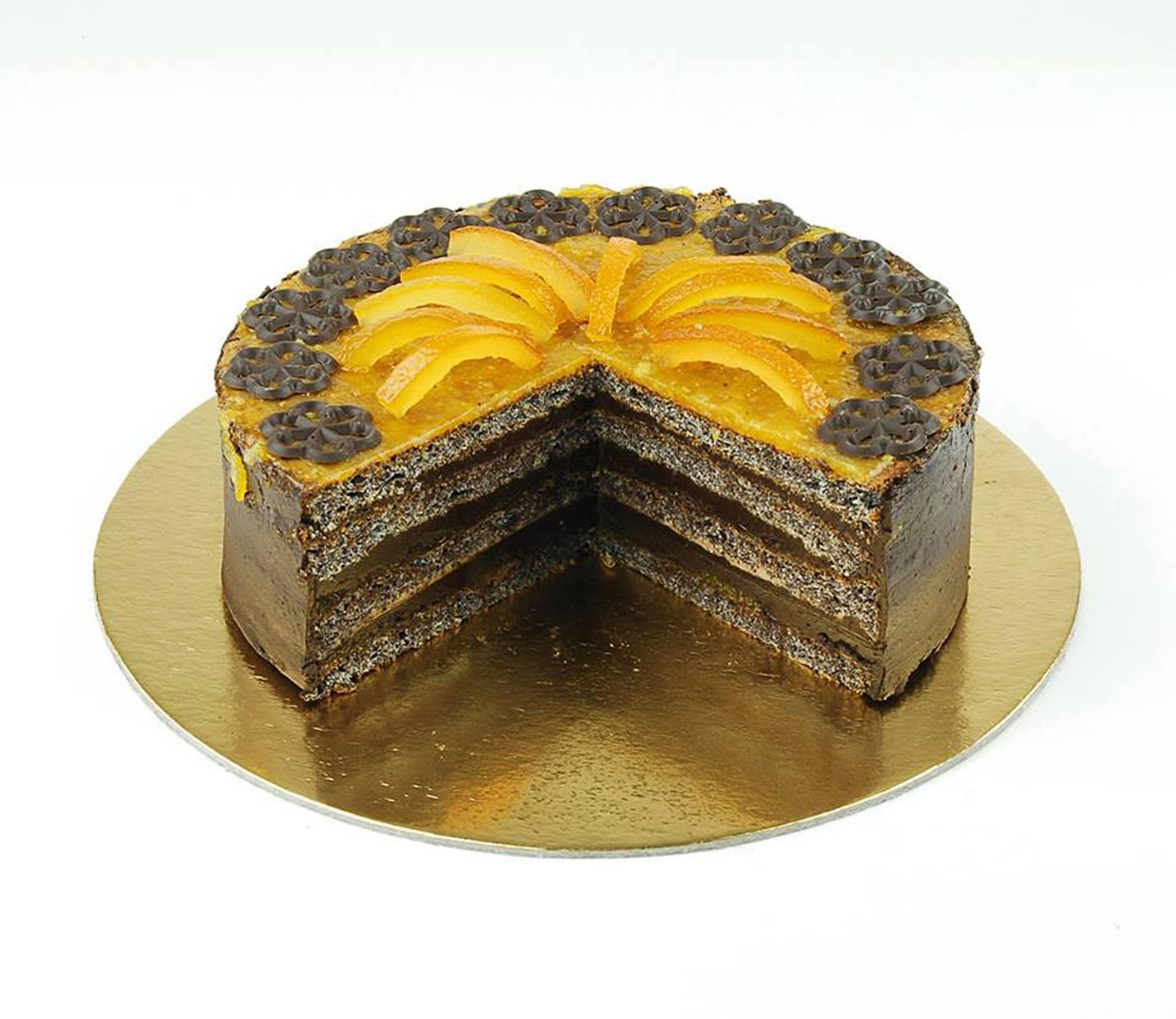 Paleo Károlyi narancsos-mákos torta