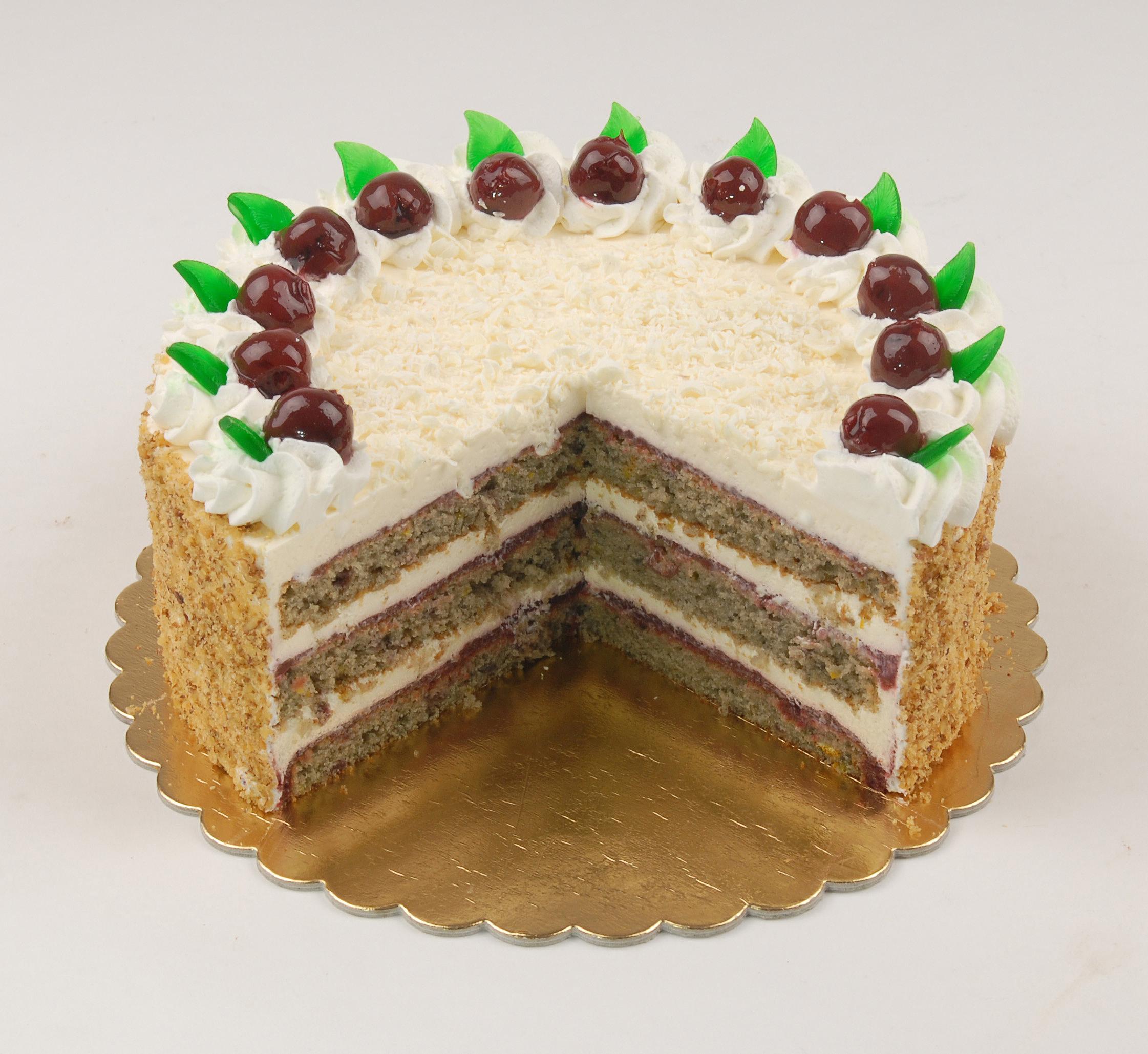 Pándi meggy torta