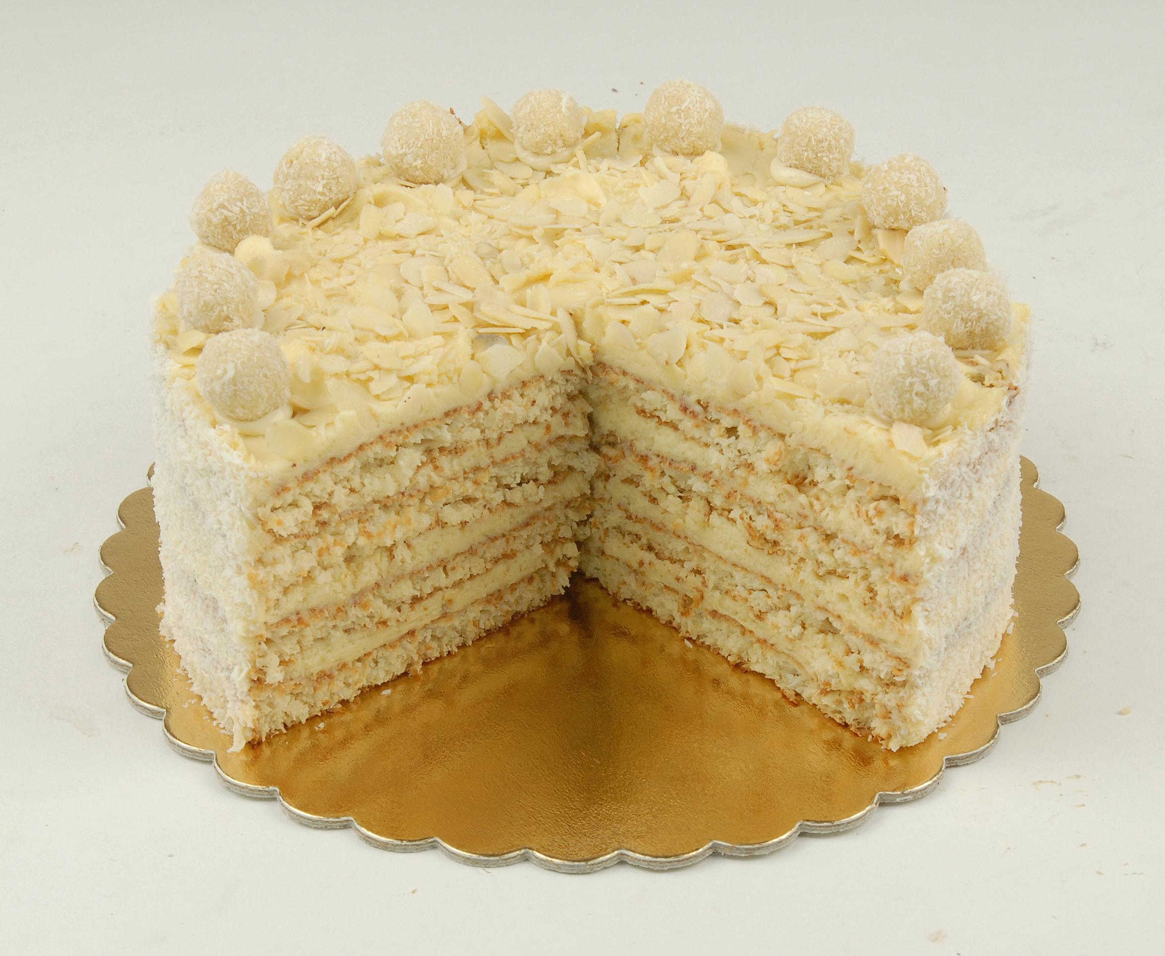 Paleo Raffaello torta