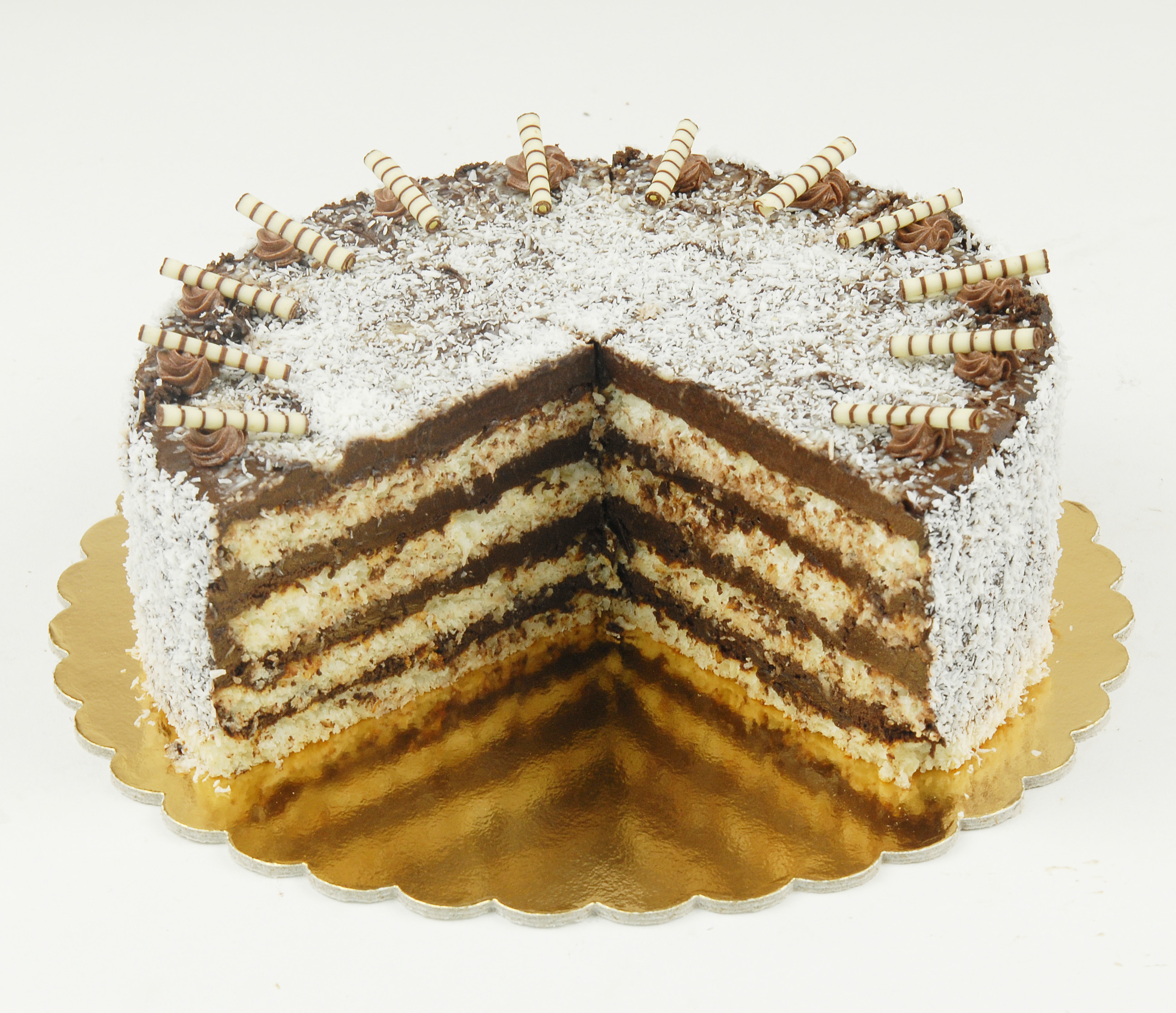 Paleo -bounty torta