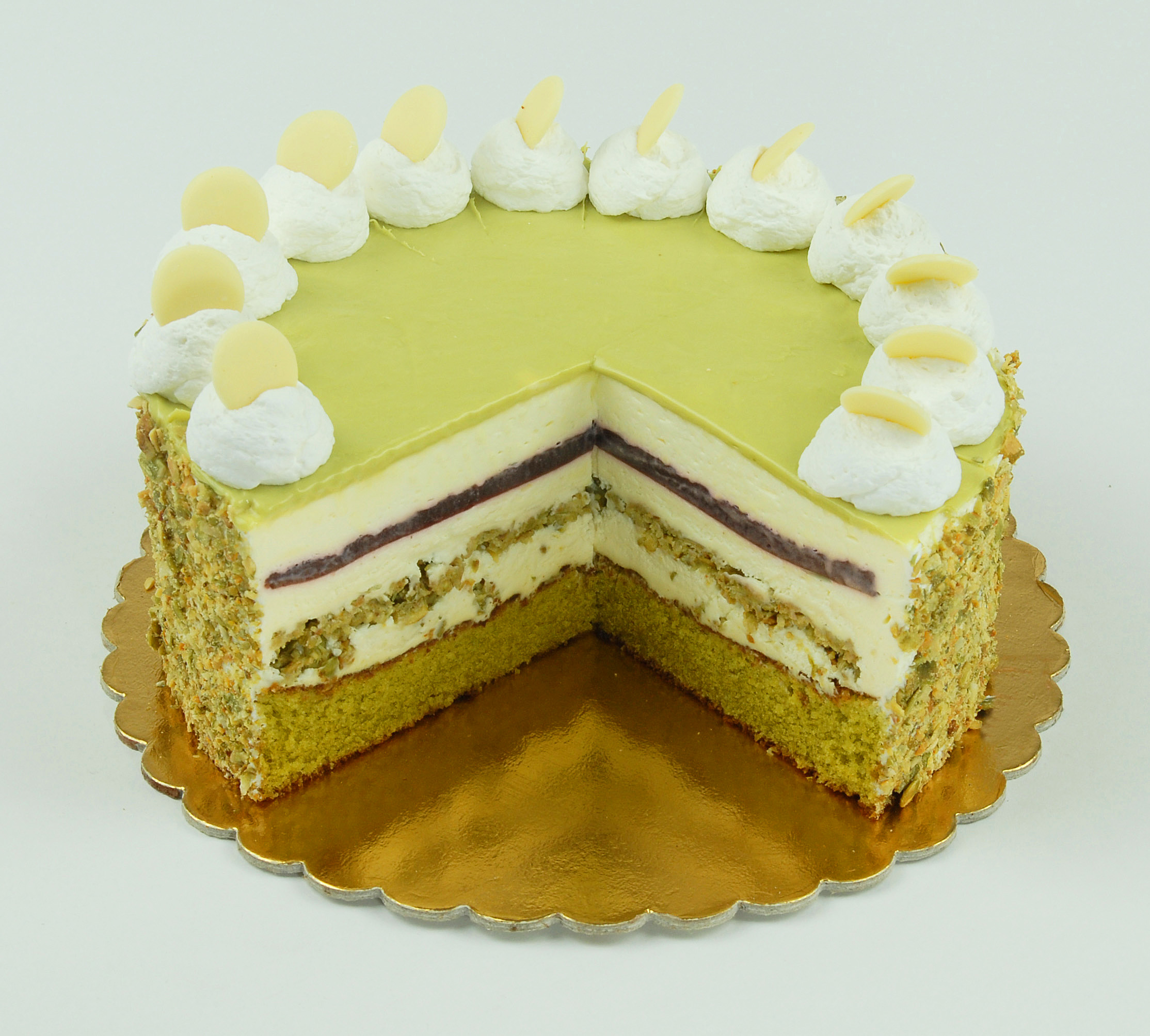 Őrség zöld aranya torta
