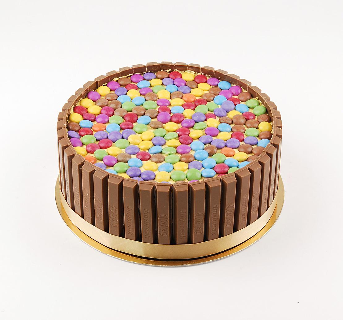 Smarties torta