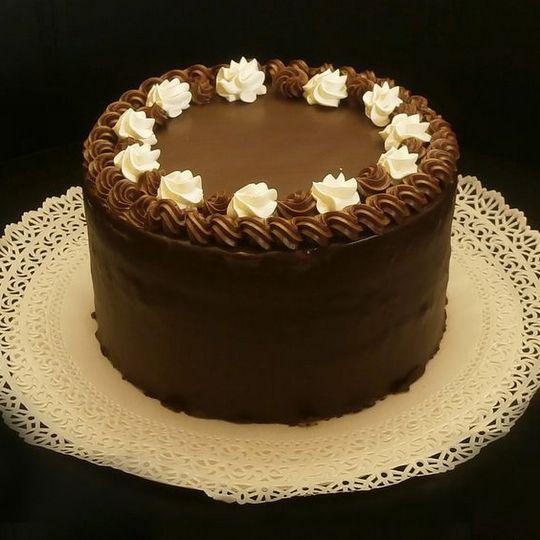 Csokoládé Zsúr torta