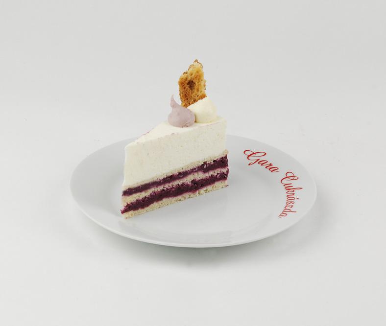 Hercegno-torta szelet