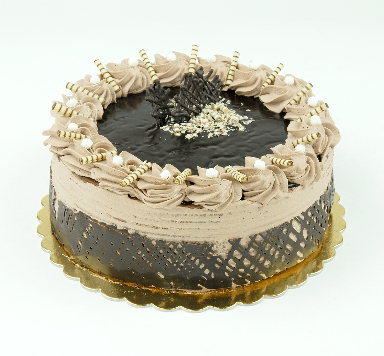 Tejszínes-csokoládé-torta